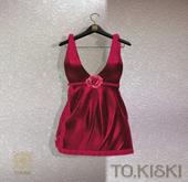 TO.KISKI - Rachel Mini Dress/ Red (Add)