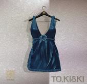 TO.KISKI - Rachel Mini Dress/ Blue (Add)