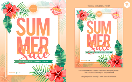 TR - Tropical Summer Sale Template