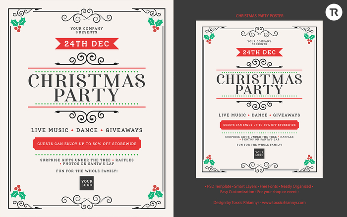 TR - Christmas Party Template