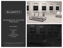 GLAMCITY // The Minimalist Collection - Store Decor (Boxed)