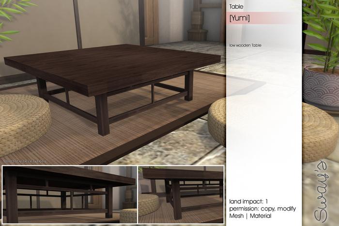 Sway's [Yumi] Table