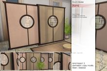 Sway's [Yumi] Room Divider