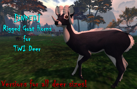 [INKED] TWI Deer Goat Horns