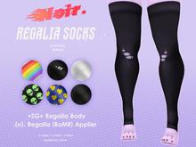 noir. Regalia Socks ( BoMR )