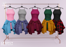 Bowtique - Tied Top & Tank Dress (Legacy)