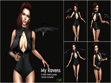 Secret Poses - My Ravens