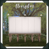floorplan. tourist billboard / create your own [box]