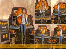 Secret Poses - Pumpkin Patch! female