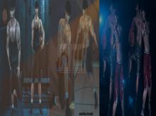 GLITCH // JORDAN & BONUS (Bento pose pack)