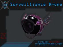 [COD] Surveillance Drone (Security/Greeter/Path/Roaming/Announcer/Talk) - Mesh