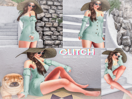 GLITCH //  Contrast (Female Bento poses)
