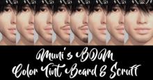 Muni's BOM Beard & Scruff