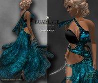Ecarlate - Odiser - Gown Formal - Aqua / Robe formelle