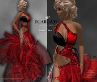 Ecarlate - Odiser - Gown Formal - Red / Robe formelle