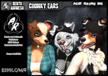 <AR> Bento/Animesh Chonky Ears