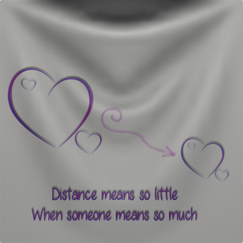 Distance Means Nothing