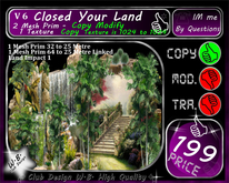 * Closed your Land * Palm Wall V 7 *