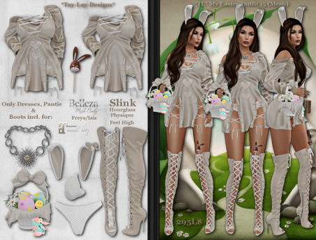 *Tay-Lay-Designs* My Easter-Outfit 15 (Mesh)