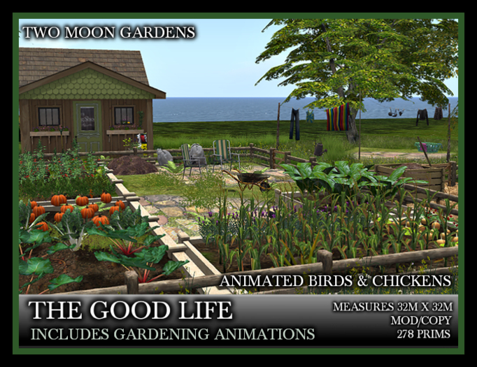 TMG - THE GOOD LIFE* Landscaped Allotment garden