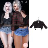 .epoch. [wear me] elise jacket black pattern