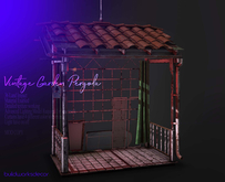 buildworksdecor ~ Vintage Garden Pergola / Boxed