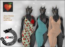 Apple Heart Inc. Jomo Jazz Dress with Hud Dragon