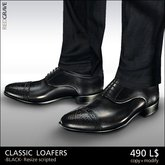 [*RG*] Classic Loafers -Black- *REDGRAVE*