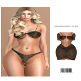 Tori Beachwear Set Bikini & Cover-up [LOUIS V.] ::Kloss::