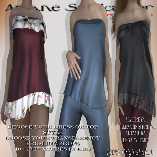 bag Dress or Top Irene *Arcane Spellcaster*