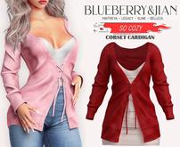 Blueberry - So Cozy - Corset Cardigan - {Extra 3}