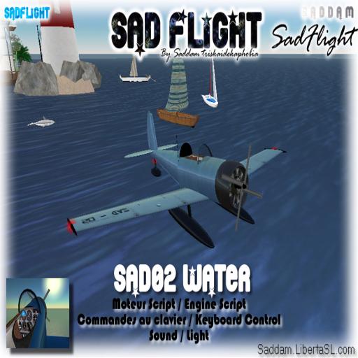 Blue Seaplane
