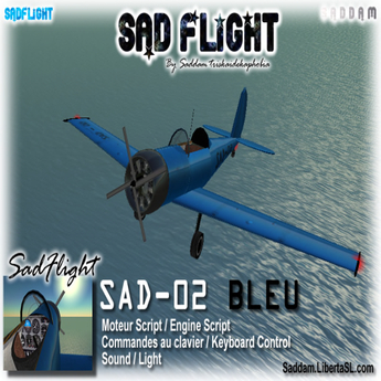 Blue plane SAD-02 (airforce)