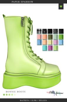 Paper.Sparrow Color Pack Bonnie Boots