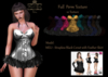 [DC] Textures  model -Meli Strapless Black Corset with ...