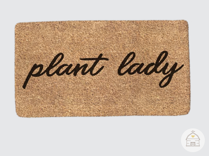 hive // plant lady doormat