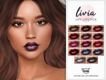 LIVIA Joy Lipstick [Catwa HD Lip Appliers]