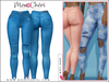 *MonCheri* Misty - High Waisted Jeans - Azure