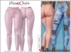 *MonCheri* Misty - High Waisted Jeans - Faded Pink