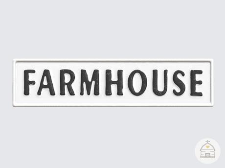 hive // farmhouse wall sign