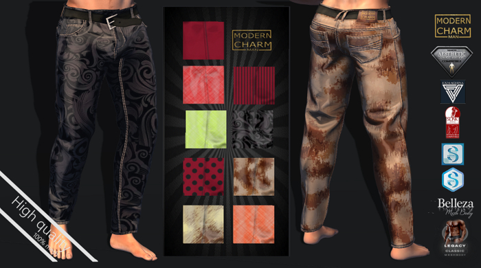 MCM- Unbuttoned Pant MIX (Aesthetic, Belleza, Exmachina Davide, Evolve, Gianni, Geralt, Meshbody Legacy, classic)