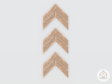 hive // chevron arrows wall decor