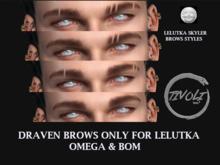 -Tivoli inc - Draven brows for lelutka skyler head  Omega / BOM
