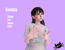 Gemma shape Genus (baby head)