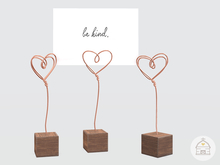 hive // wire heart photo holder