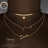NaaNaa's Eshaiq Necklace set Silver [Wear Me]