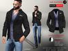 A&D Clothing - Blazer -Easton- Ebony