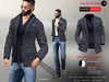 A&D Clothing - Blazer -Easton- Charcoal
