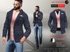 A&D Clothing - Blazer -Easton- Navy