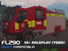Sombre FL290 Fire Engine